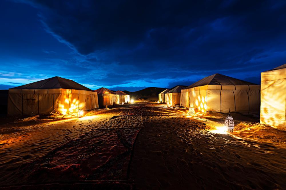 Dormir dans le désert de Merzouga au Maroc