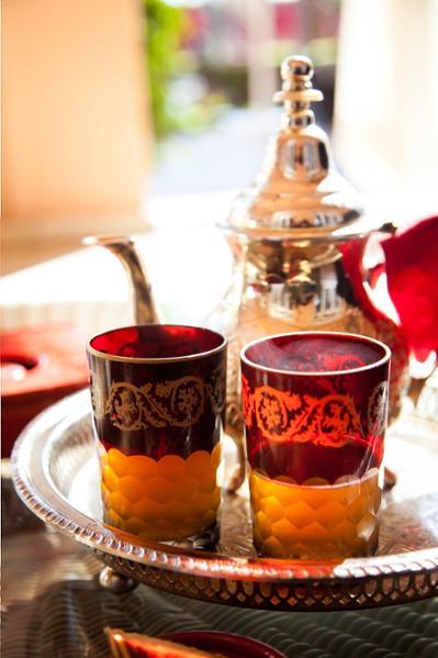 Le rituel du thé vert au Maroc