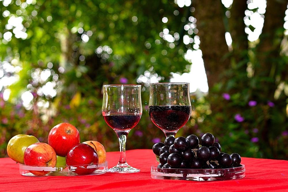 Le vin rouge Marocain
